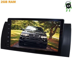 Штатная магнитола BMW 7 (E38), 5 (E39), M5 (E39), X5 (E53) LeTrun 2468 на Android 8.1.1
