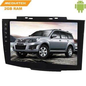 Штатная магнитола Great Wall Hover H3 2014-2017 LeTrun 2527 Android 6.0.1 9 дюймов (4G LTE 2GB)