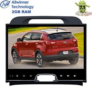 Штатная магнитола Kia Sportage III 2010-2016 LeTrun 2382 на Android 7.1.1 Allwinner T3