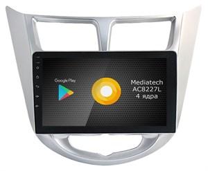Штатная магнитола Roximo S10 RS-2003 для Hyundai Solaris (Android 10.0)