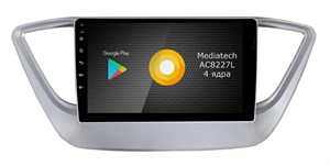 Штатная магнитола Roximo S10 RS-2011 для Hyundai Solaris 2017 (Android 8.1)