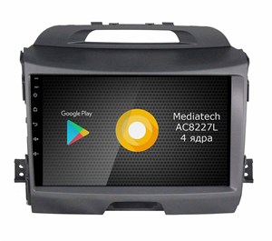 Штатная магнитола Roximo S10 RS-2313 для KIA Sportage 3 (Android 8.1)