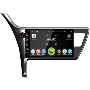 Штатная магнитола Roximo CarDroid RD-1125D для Toyota Corolla E170 E180 2016-2019 (Android 8.0) DSP