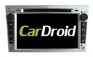 Штатная магнитола Roximo CarDroid RD-2801S для Opel Astra, Vectra, Corsa 2004-2011 (Android 8.0) серебро