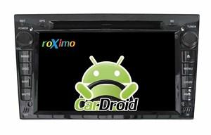 Штатная магнитола Roximo CarDroid RD-2801DB для Opel Astra, Vectra, Corsa 2004-2011 (Android 8.0) DSP черный