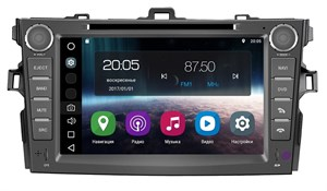 Штатная магнитола FarCar S200 для Toyota Corolla X 2006-2013 на Android 8.0 (V063)