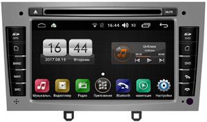 Штатная магнитола FarCar Winca s170 для Peugeot 308, 408, RCZ на Android 6.0.1 (L083) Silver