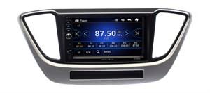 Магнитола в штатное место Hyundai Solaris 2017+ Wide Media DV-JM7130