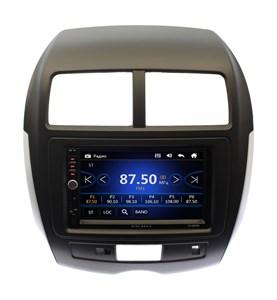Магнитола в штатное место Mitsubishi ASX, Citroen C4 Aircross, Peugeot 4008 Wide Media DV-JM7145