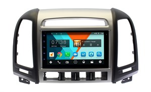 Магнитола в штатное место Hyundai Santa Fe 2010+ с отверстиями для 4-х кнопок Wide Media MT7127MF-1/16