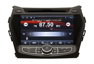 Штатная магнитола Hyundai Santa Fe, ix45 2012 + Witson W2-i209