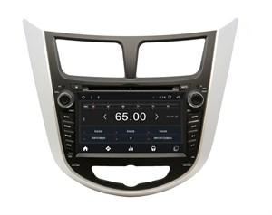 Штатная магнитола Hyundai Solaris 2010 - 2016, Verna Wide Media WM-KR7020NC-2/16