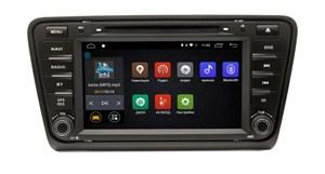 Штатная магнитола Skoda Octavia 2013+ Ksize DVA-ZN7051 Android для авто без камеры